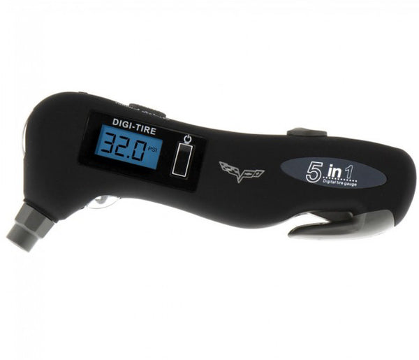 C6 Ultimate Safety Tool & Tire Gauge