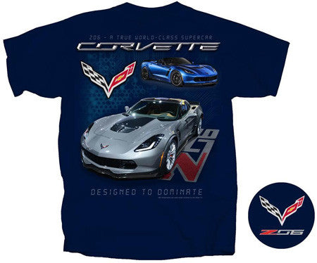C7 Corvette T - Designed to Dominate