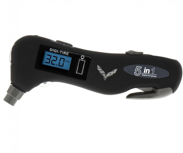 C7 Ultimate Safety Tool & Tire Gauge
