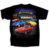 CORVETTE SHOWROOM T-SHIRT