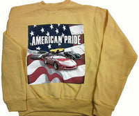 Corvette Sweatshirt Gold  Youth - American Pride