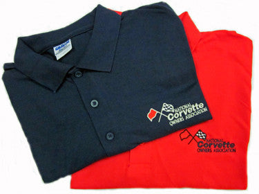 Corvette Golf Shirt - NCOA Logo