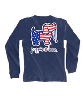 USA Pup Youth Navy Puppie Love
