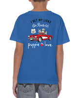 I Get My Licks on Route 66 - Children's T-Shirt & Long Sleeve Shirt - Puppie Love