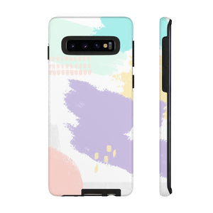 Abstract Pastels TOUGH Case