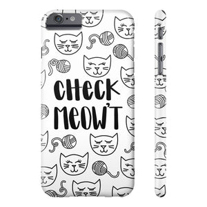 Check Meow't Phone Case