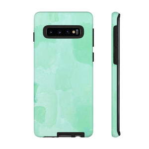 Painted Mint Watercolor TOUGH Case