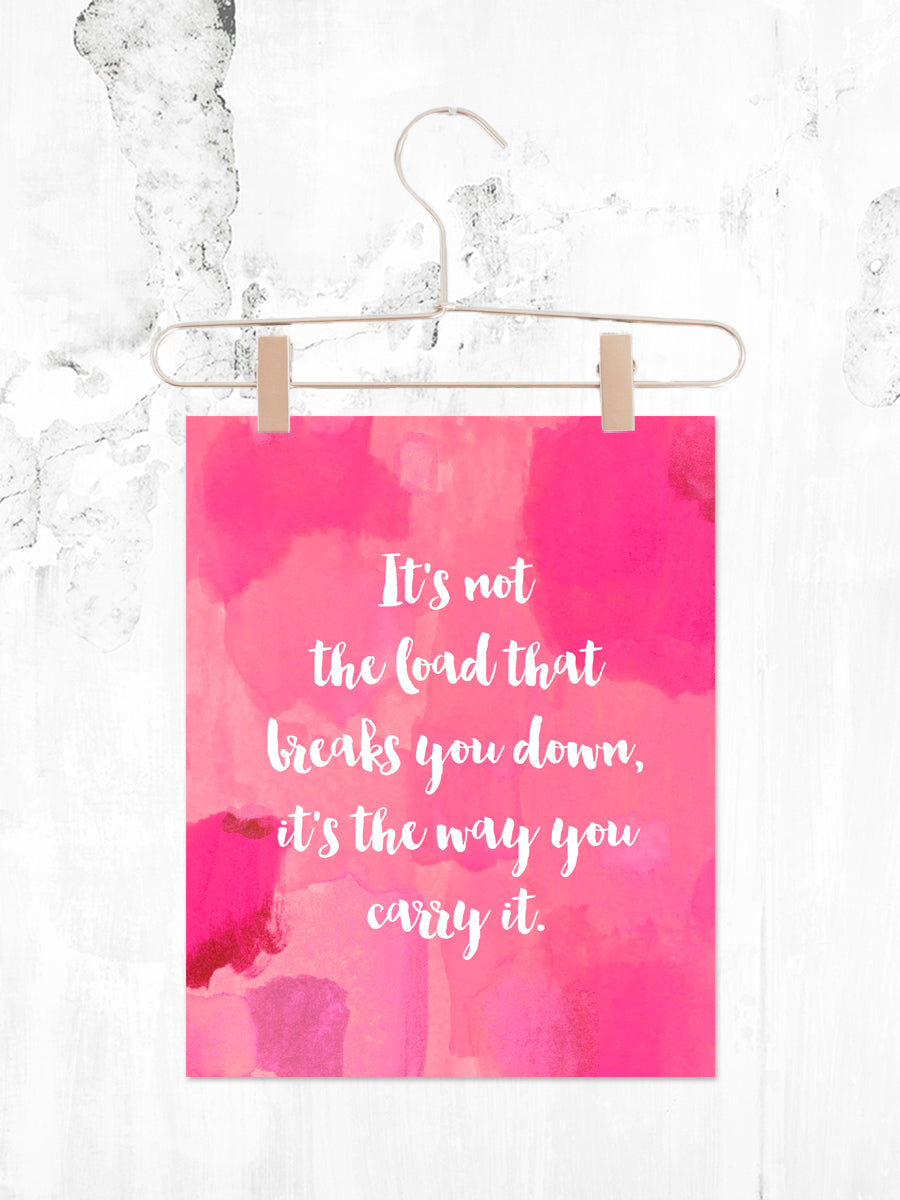 Carry It | Printable 8x10