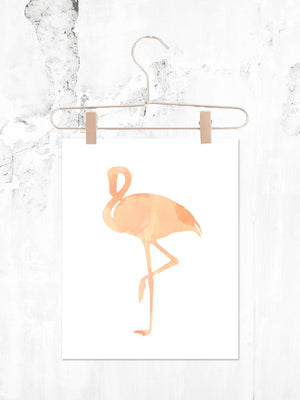 Flamingo | Printable 8x10