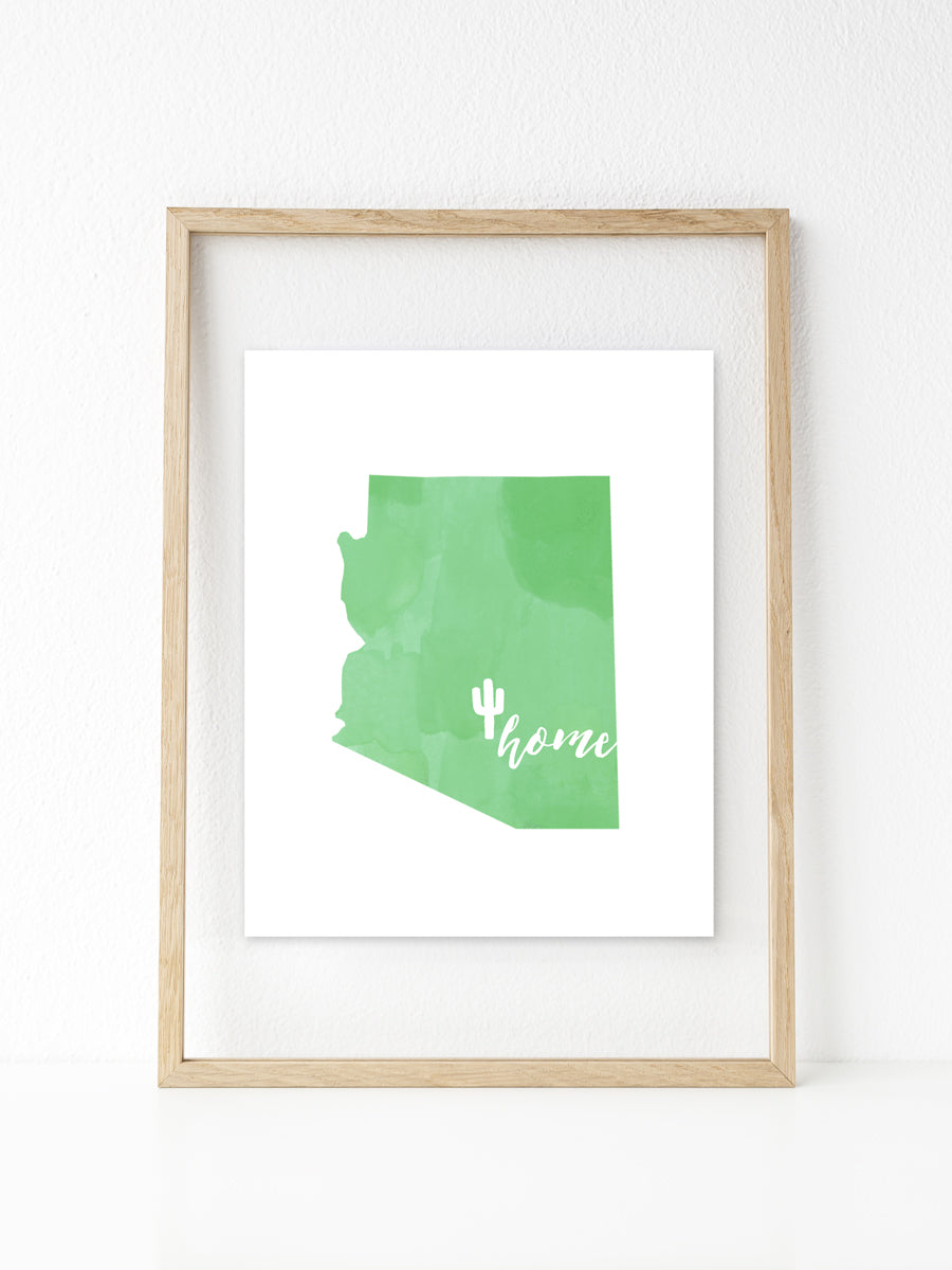 Arizona | Printable 8x10