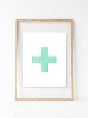 Swiss Cross | Printable 8x10
