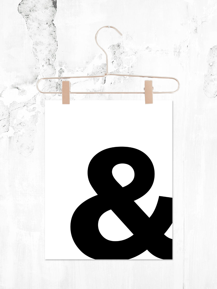 Ampersand | Printable 8x10