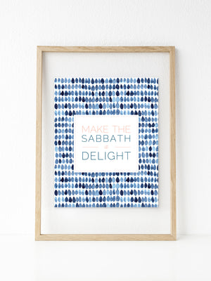 Sabbath Delight | Printable 8x10