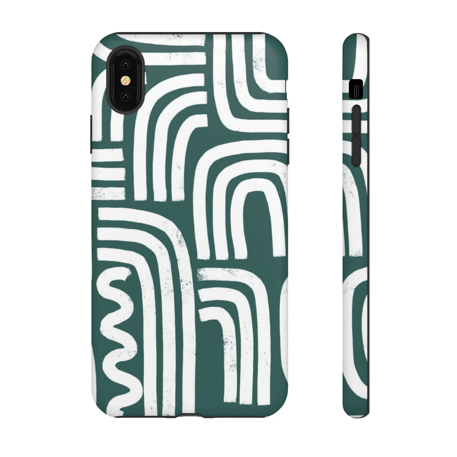 Abstract Rainbows TOUGH Case