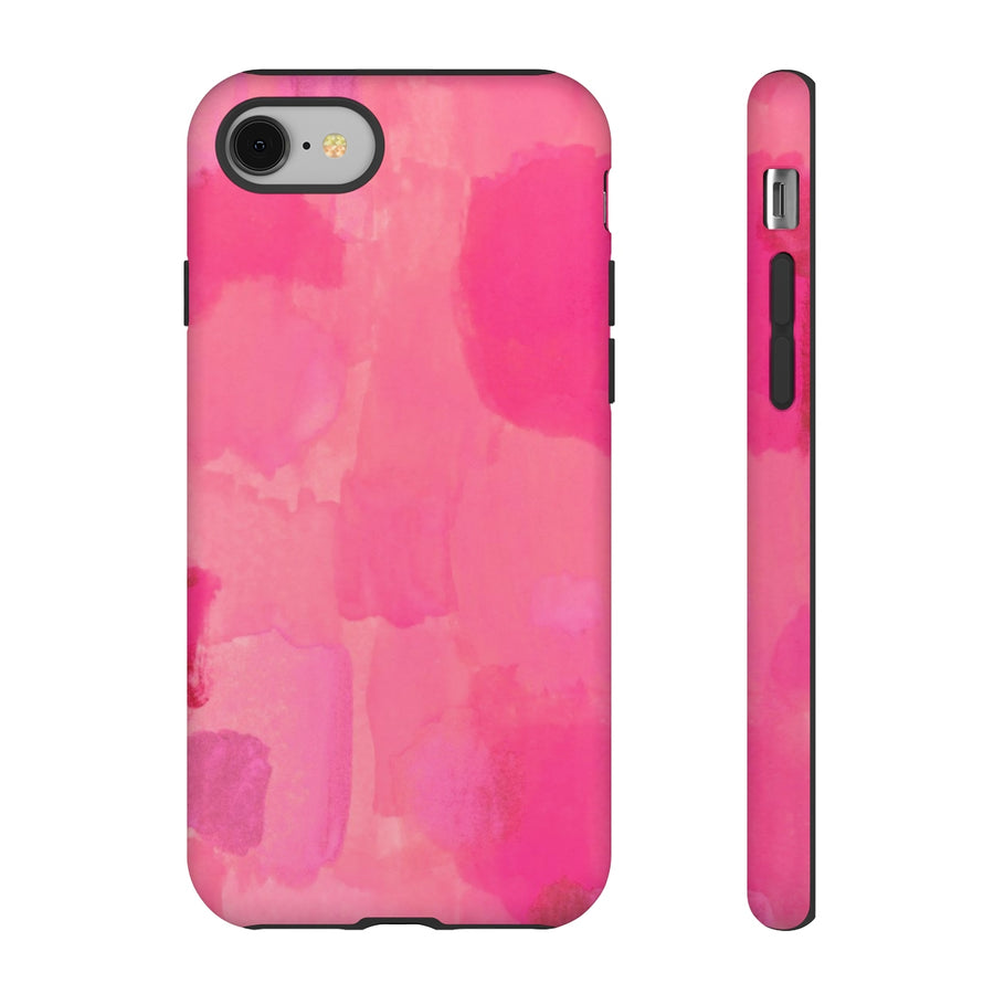 Painted Pink Watercolor TOUGH Case