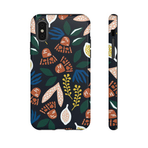Seeded Forest Florals on Black TOUGH Case