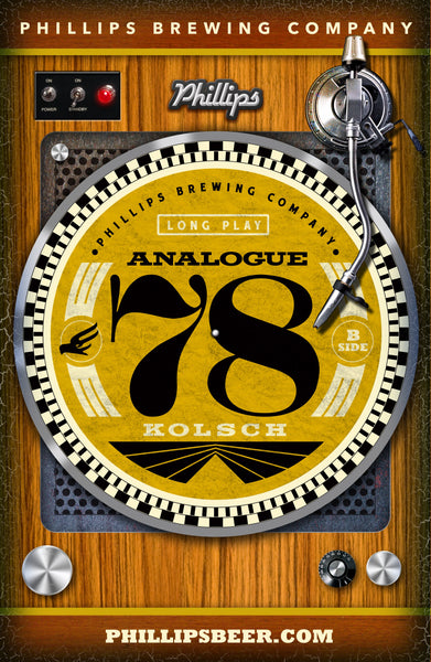 Analogue 78 Kolsch Poster