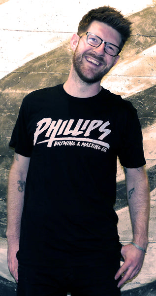 *ON SALE* Black Phillips Skate T-Shirt