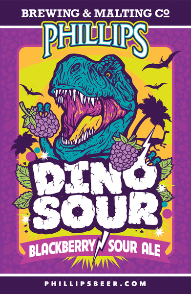 Dino Sour Poster