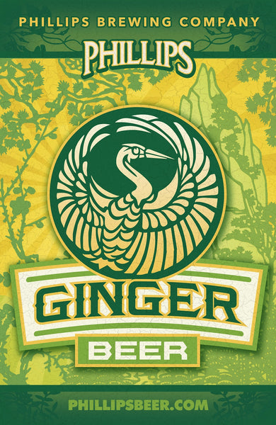 Ginger Spiced Ale Mounted Poster