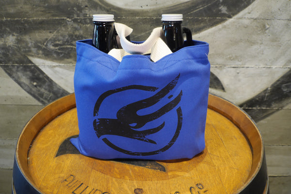 Hand Held Growler Bag