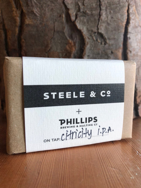 Steele & Co Beer Soap