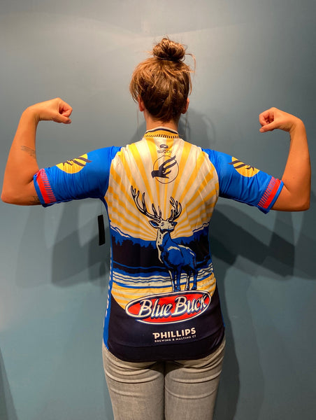 Blue Buck Cycling Jersey *New Design*