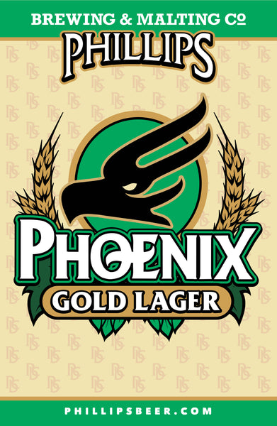 Phoenix Gold Lager Poster