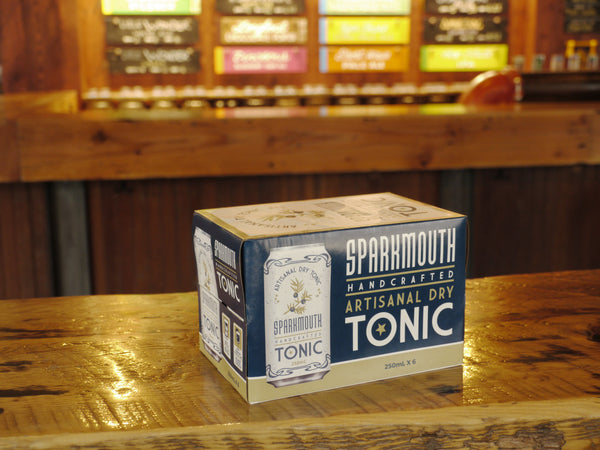 Sparkmouth Artisanal Dry Tonic 6x250ml Can