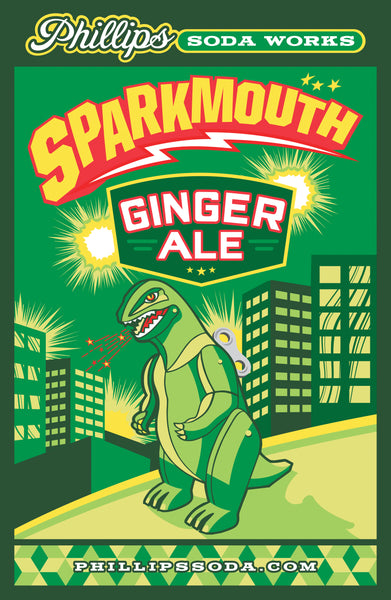 Sparkmouth Ginger Ale Poster