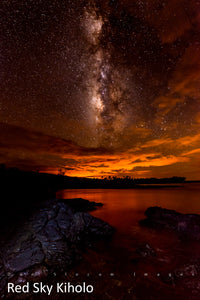 Red Sky Kiholo by Don Slocum