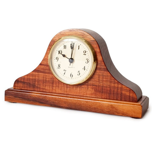 Koa Mantle Desk Clock