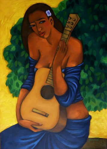 Guitar Girl by Tim Nguyen