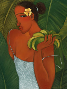 "Limited Edition Giclee 18 x 24 ""Ripe Bananas"""
