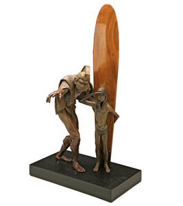 "Bronze Sculpture ""Royal Perspective #1"""
