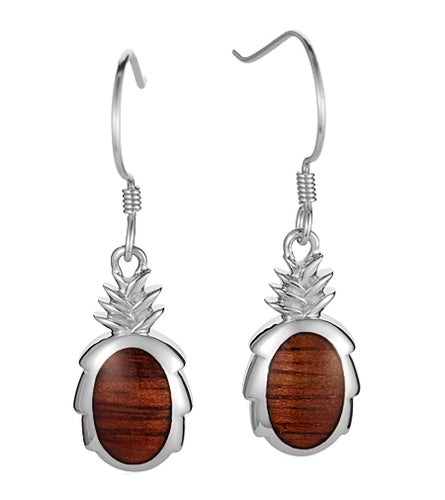 Koa Pineapple Earrings SS