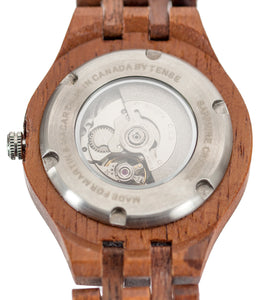 Koa Monarch Self-Winding, Automatic Watch. Eggshell - 18742