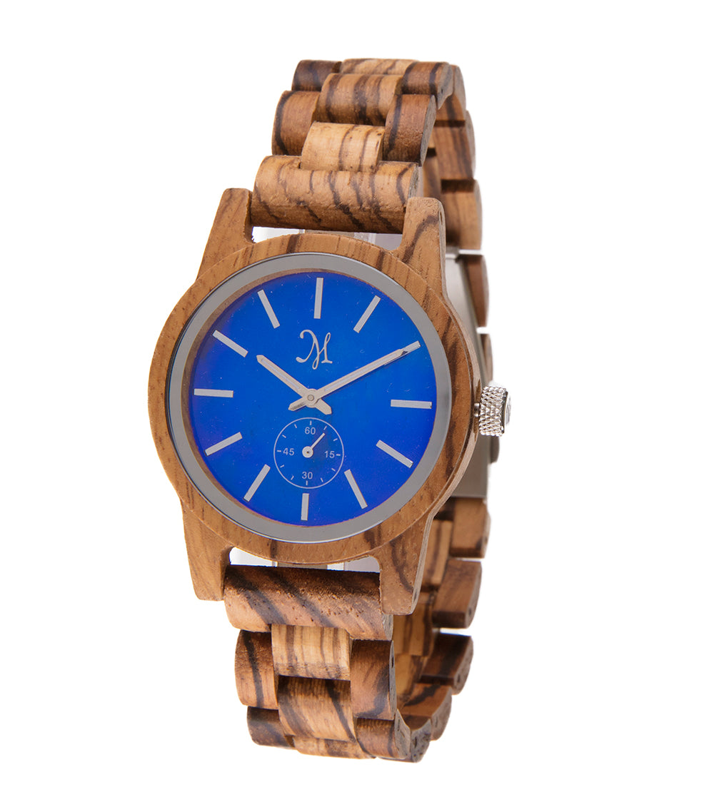 Zebrawood, Blue Mother of Pearl- 22732