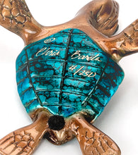 "Bronze Sculpture ""Slow Poke"" Blue"