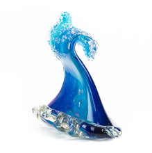 "Glass Sculpture ""Crashing Wave"" Extra Large"