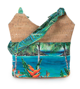 Why Knot Heliconia Hobo Bag