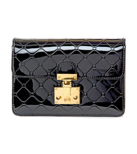 Julia Black Crossbody Wallet Bag