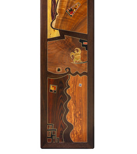 "Wood Inlay Mural ""Open Spaces"""