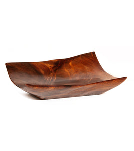 Carved Koa Vessel #1917