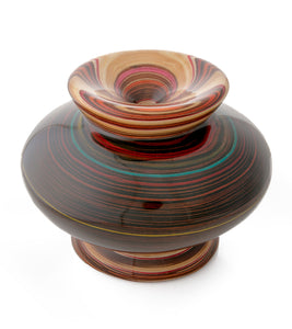 "Wood Vessel ""Galaxy 24205"""