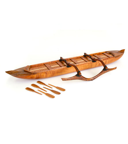 Cribbage Canoe Set