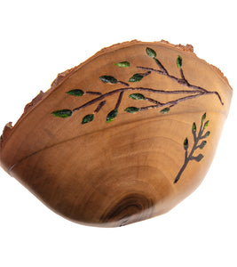 Camphor Natural Edge Bowl #28320