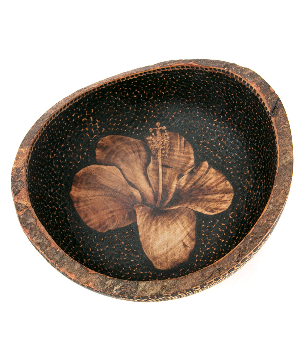 Pyrography Mango Bowl