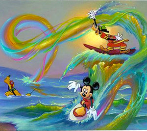 Mickey's Crazy Wave by Jim Warren