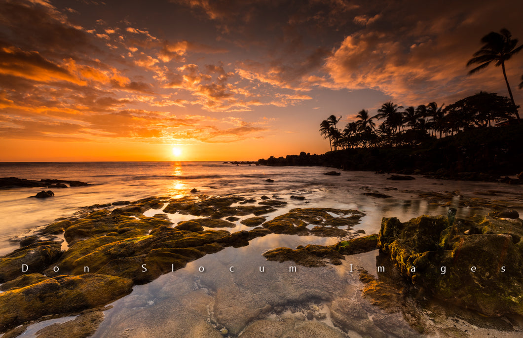 Polynesian Sunset by Don Slocum
